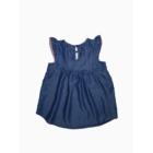 86/92-es Lyocell gyönyörű mintás kislány ruha