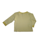 74-es sárga-fehér pamut felső