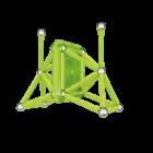 Geomag Glow foszforeszkáló mágneses építőkészlet - 40 db