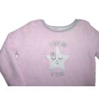 86/92-es pihe-puha csillagos rózsaszín wellsoft pulóver