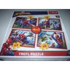 Trefl Pókember, Spiderman - 4 in 1 kirakó
