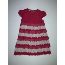 80/86-os M&S csodaszép, különleges alkalmi kislány ruha