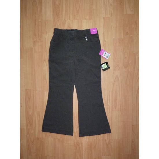 110/116-os csinos, szürke alkalmi nadrág - új