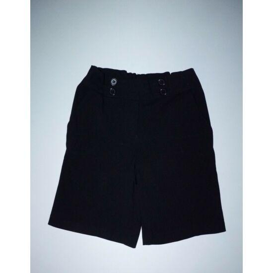 134-es Marks&Spencer lány fekete szövet rövidnadrág