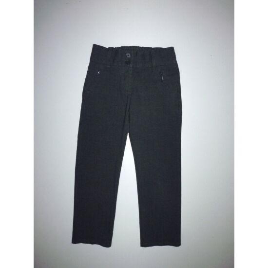 116-os M&S sötétszürke kislány alkalmi nadrág
