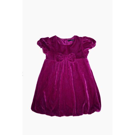 92/98-as gyönyörű alkalmi puffos kislány ruha