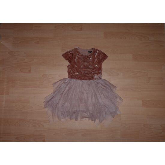 110/116-os Marks&Spencer gyönyörű, flitteres alkalmi ruha