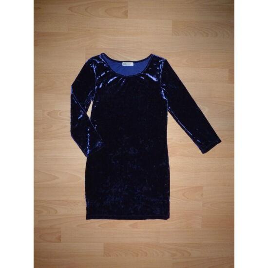 158/164-es H&M tükörbársony gyönyörű alkalmi ruha