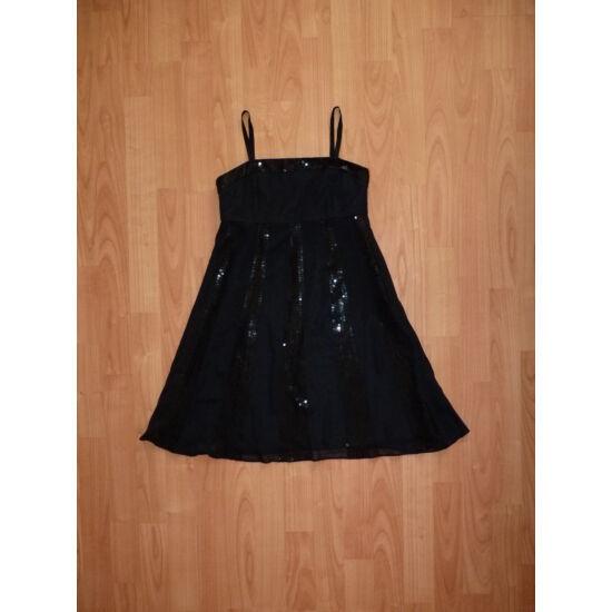140-es csodaszép fekete alkalmi ruha - Szoknyák d8542b3405