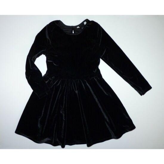 98/104-es gyönyörű, csillámló tükörbársony alkalmi ruha