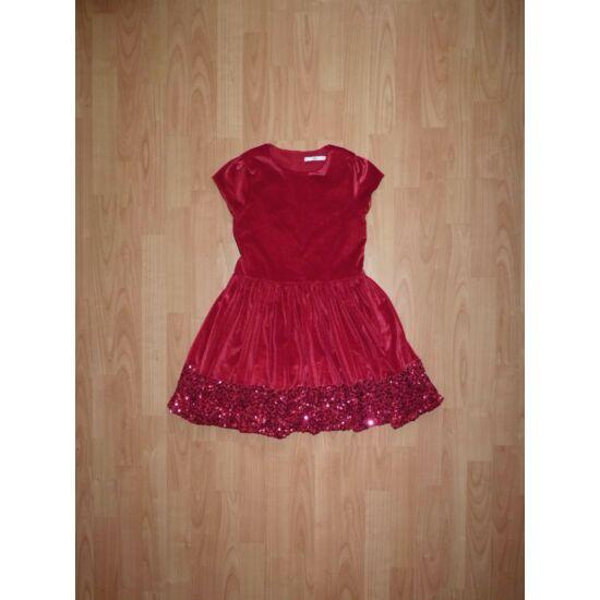134/140-es M&S gyönyörű flitteres alkalmi ruha