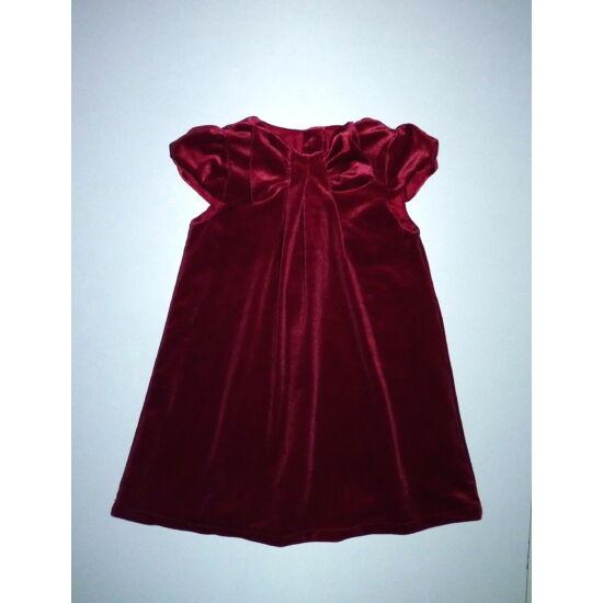 86-os H&M gyönyörű, bársony alkalmi ruha