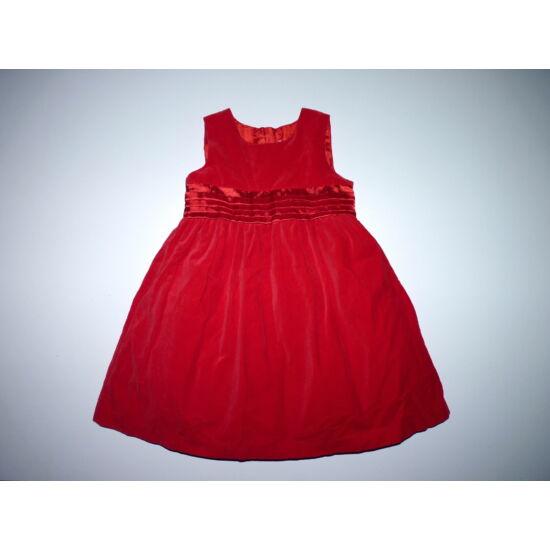 0caf41a155 98-as csodaszép piros alkalmi ruha alsószoknyával - Szoknyák, ruhák ...