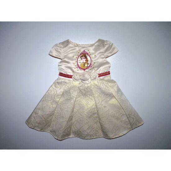 92-es Disney Belle mintás gyönyörű alkalmi ruha