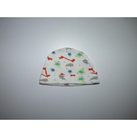 50/56-os tündéri állatkás pamut sapka