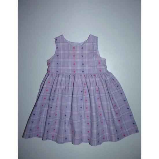 74-es Next lila szívecskés nyári ruha
