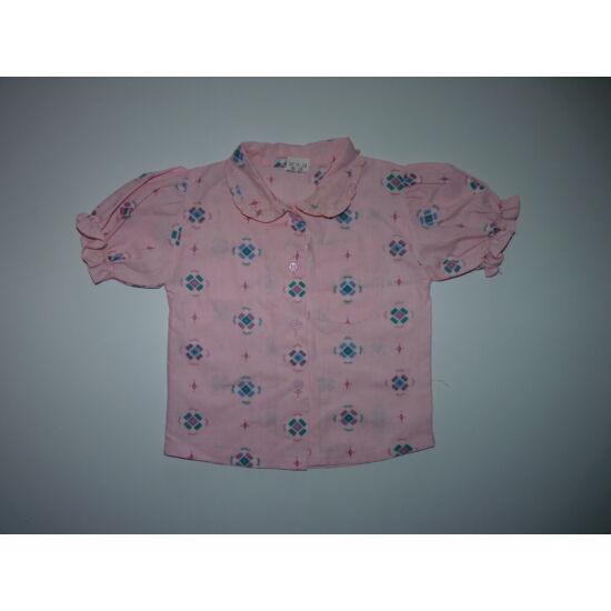 86-os tündéri rózsaszín kislány blúz