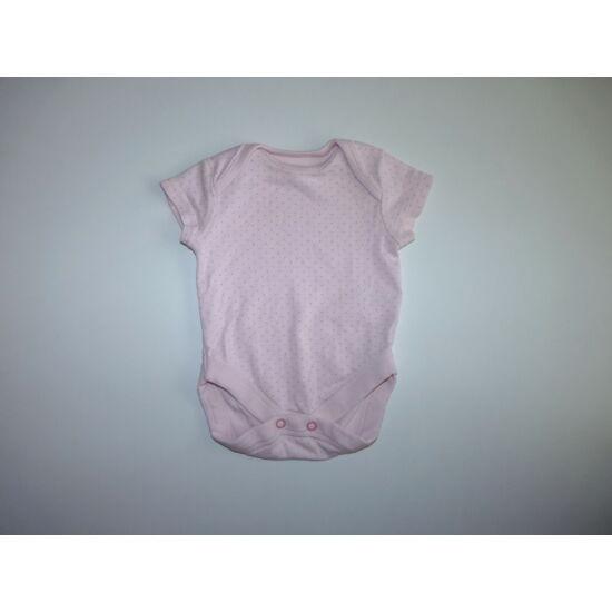 56-os Next rózsaszín rövid ujjú body
