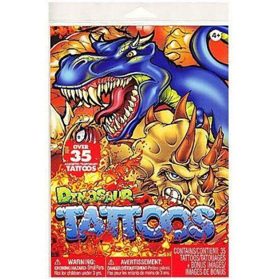 Dinosaurus tetoválás szett - 35 darabos