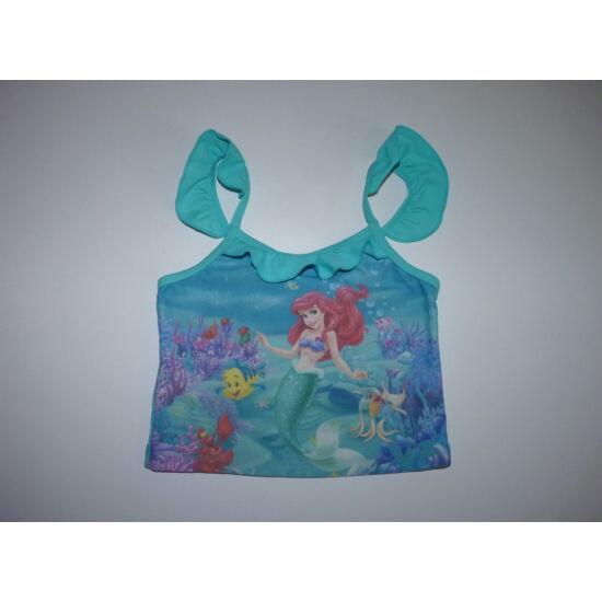 110/116-os Disney Ariel fürdőruha, tankini felső - játszósabb