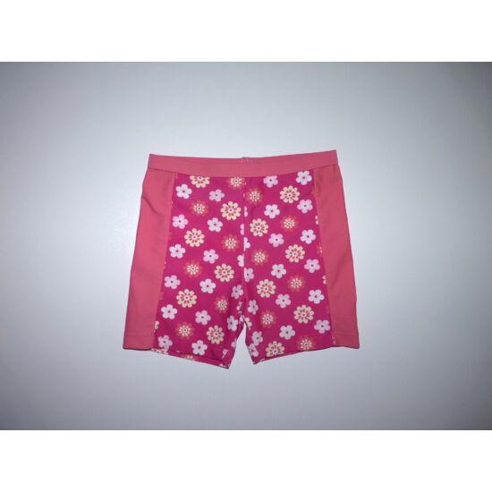 98-as UV szűrős virágos fürdőruha alsó, fürdőbugyi