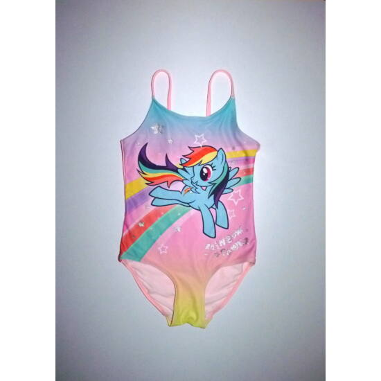 110/116-os H&M My Little Pony Rainbow Dash fürdőruha
