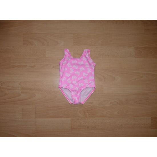 62-es YD csajos rózsaszín lepkés fürdőruha