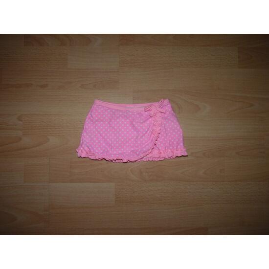 80/86-os szoknyás bikini alsó