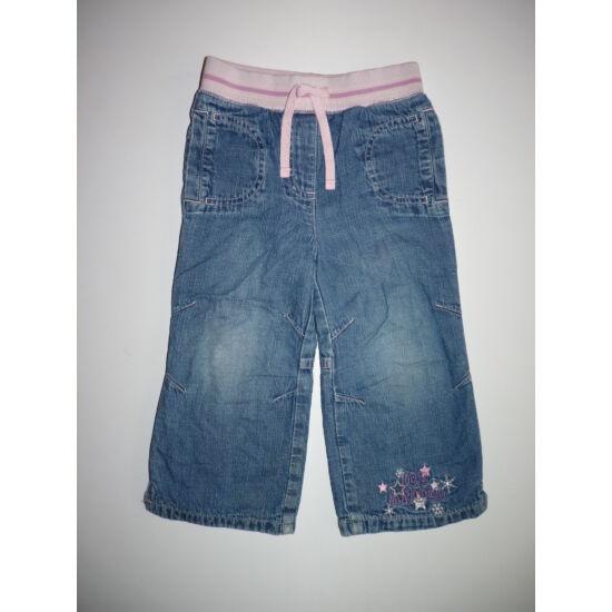 92-es Next pamut bélelt kislány nadrág