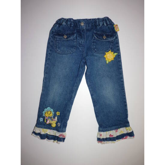 92/98-as Fifi mintás kislány farmernadrág