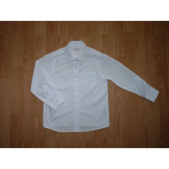 13d0ea0b18 116-os M&S hosszú ujjú fehér ing - 116 - Lurkoshop gyerekruha webshop