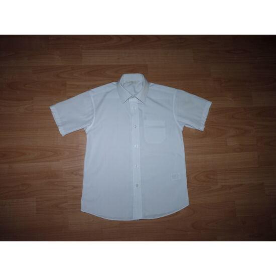 122-es M S fehér rövid ujjú ing - Pólók 2dbfa0bbfc