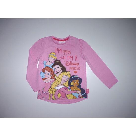 104-es Disney Hercegnők csillámló felső