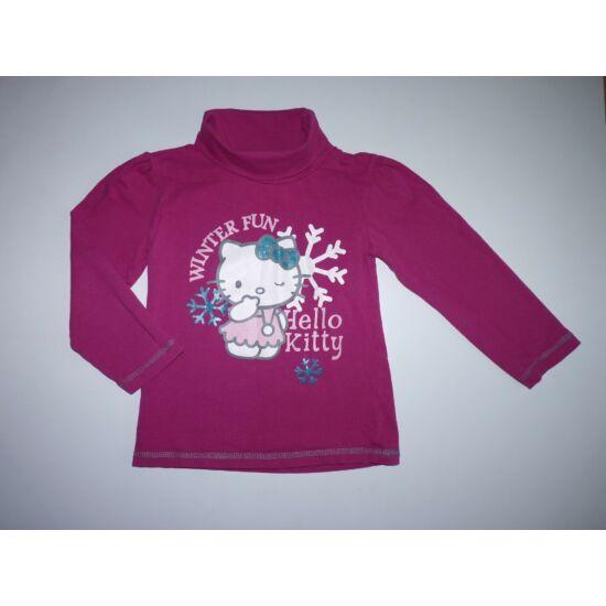 ~98/104-es tündéri téli Hello Kitty garbó