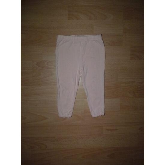 86-os F&F barackszínű kislány leggings
