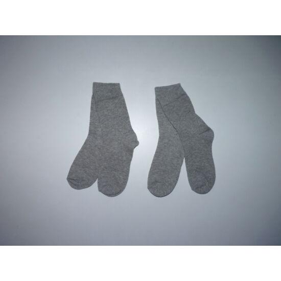 2 pár szürke zokni 27-30-as - új