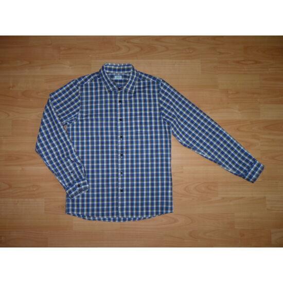 c8804045f4 152-es kék kockás újszerű vagány fiú ing - Pólók, felsők, ingek ...