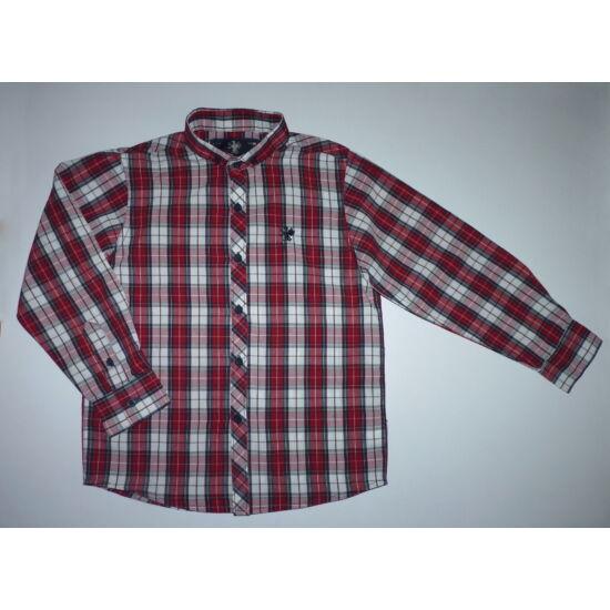 5439cdb9b1 116-os Next piros kockás ing - Pólók, felsők, ingek - Lurkoshop ...