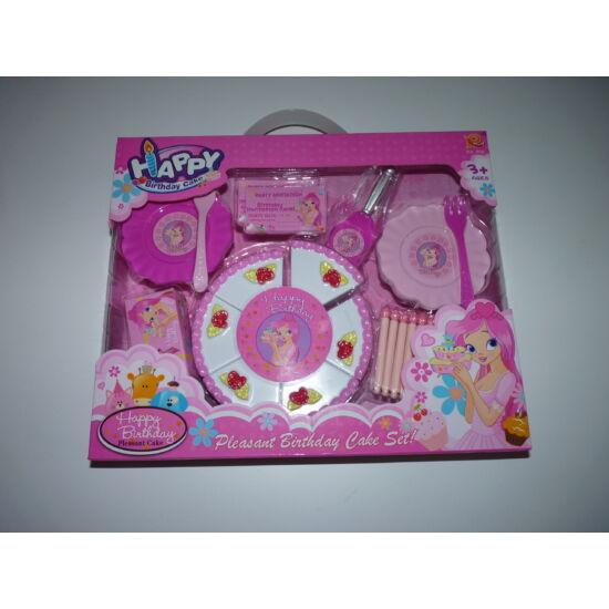 Születésnapi szeletelhető torta készlet - Lány játékok - Lurkoshop ... 1f9239c861