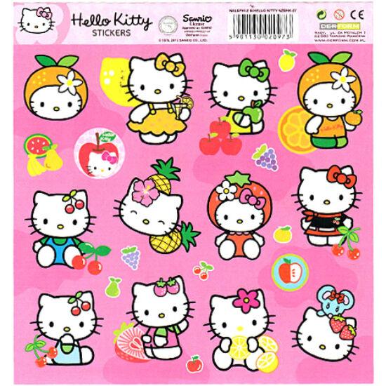 Hello Kitty Fruits matrica szett 15 db-os - gyümölcsök
