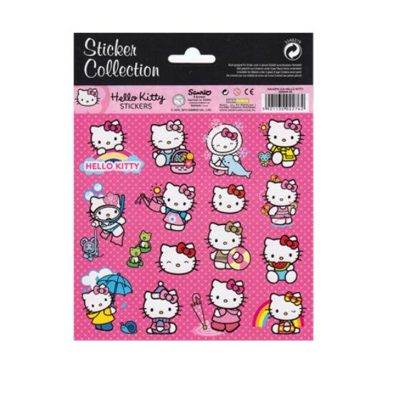 Hello Kitty cuki matrica szett 16 db-os - évszakok