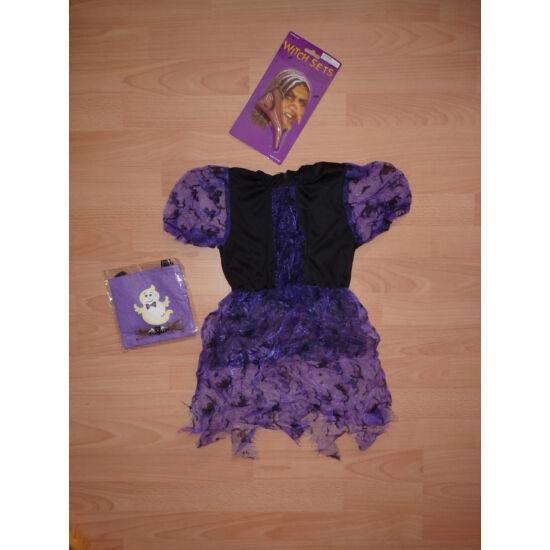 98/104-es boszi jelmez, boszorkány ruha