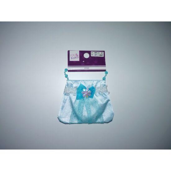 Gyönyörű kék kislány szütyő - Jégvarázs jelmez kiegészítő táska- új