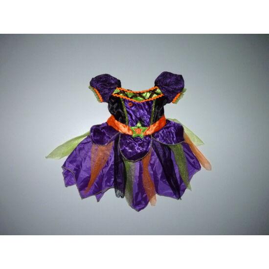 68/74-es TU csodaszép boszorkány jelmez, Halloween ruha ELKELT