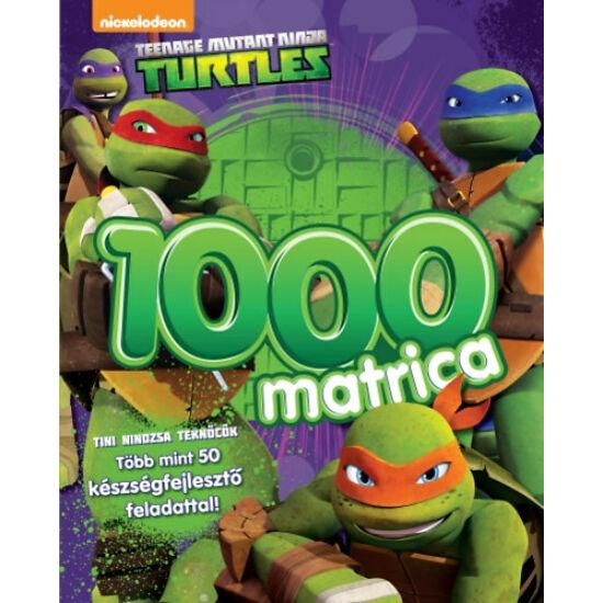 Tini nindzsa Teknőcök: 1000 matrica - készségfejlesztőkkel