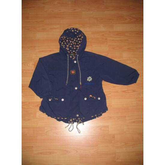 122-es lány átmeneti kapucnis kabát