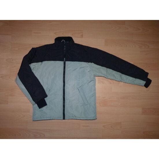 b7df0a5281 152-es Vögele One by One fekete szürke fiú kabát - Kabátok ...