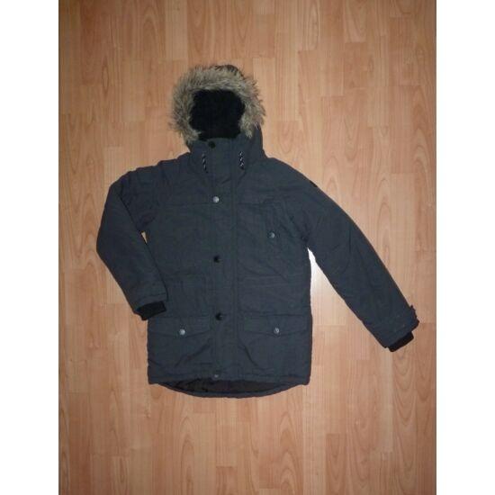 146-os Next vagány, szürke kapucnis kabát