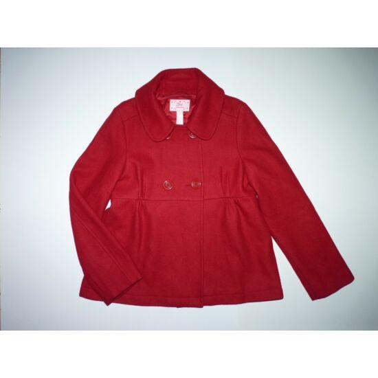 ~134-es GAP csinos piros szövetkabát