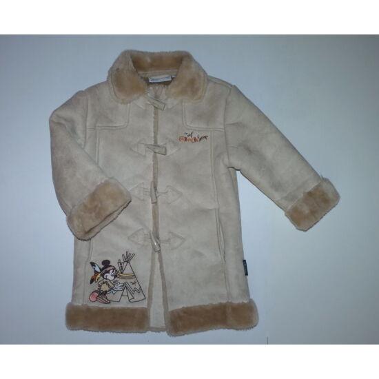 104-es gyönyörű Disney Minnie kislány műirha kabát